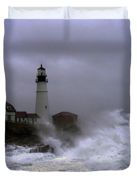 The Storm Duvet Cover by Lloyd Alexander
