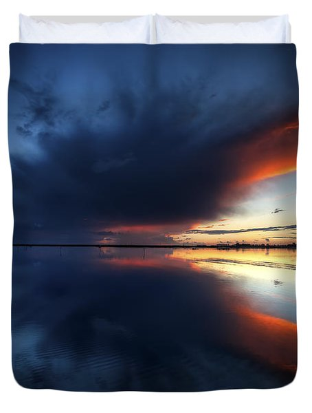 The Storm Duvet Cover by English Landscapes