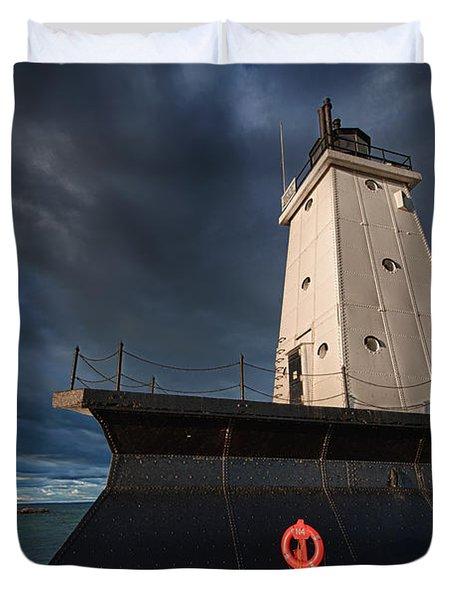 The Storm Duvet Cover by Sebastian Musial