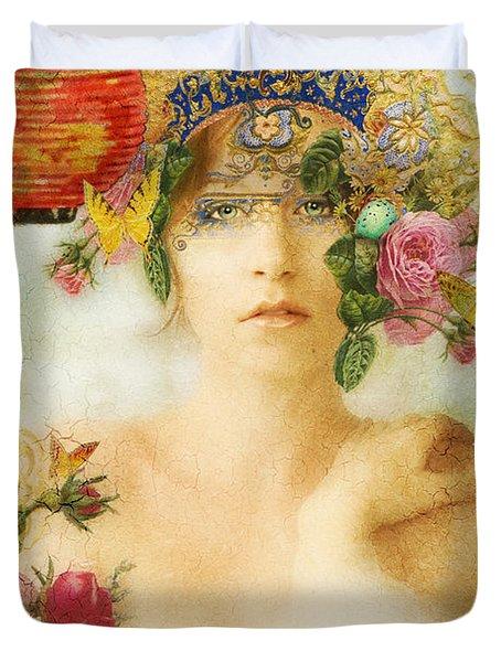 The Summer Queen Duvet Cover by Aimee Stewart