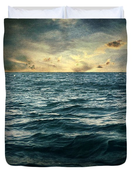 The Time I Was Daydreaming Duvet Cover by Taylan Soyturk