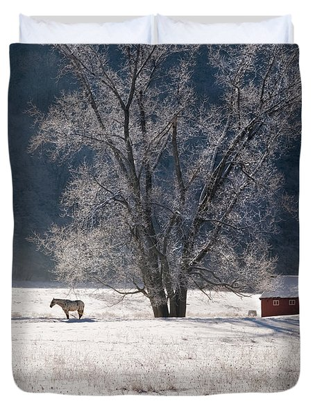 The Tree Duvet Cover by Bill  Wakeley