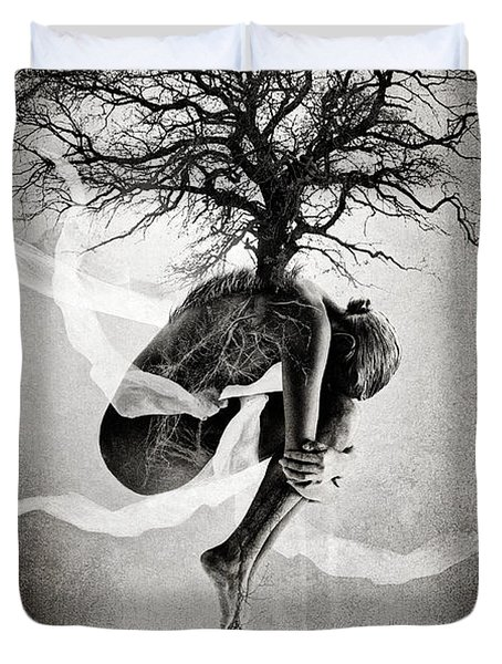 The Tree Of Life Duvet Cover by Erik Brede