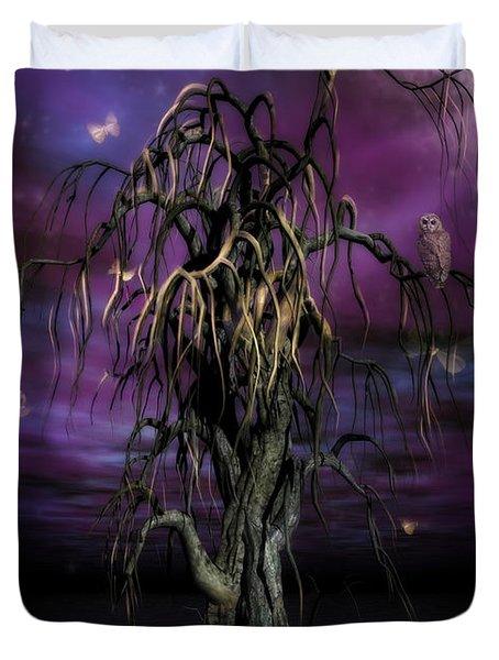 The Tree Of Sawols Duvet Cover by John Edwards