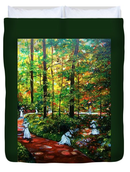 The Trials Duvet Cover by Emery Franklin