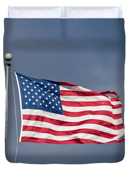 The United States of America Duvet Cover by Benjamin Reed