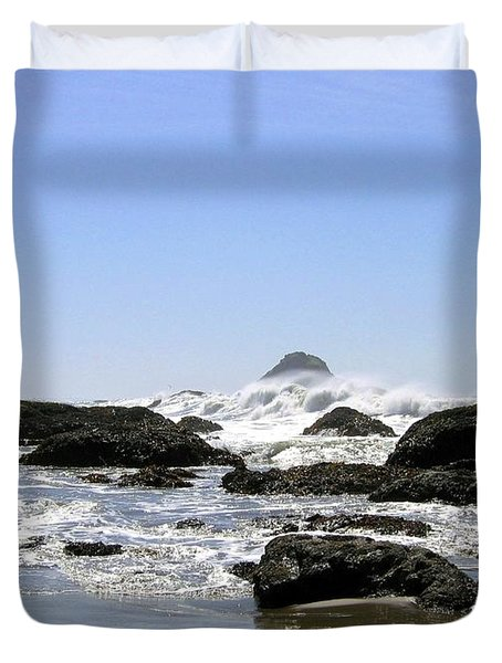 The Untamed Sea Duvet Cover by Will Borden