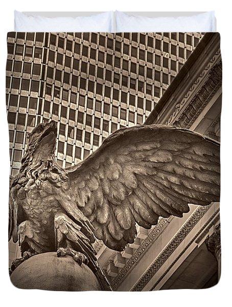 The Vanderbilt Eagle  Duvet Cover by Susan Candelario