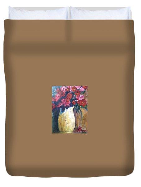 The Vase Duvet Cover by Sherry Harradence