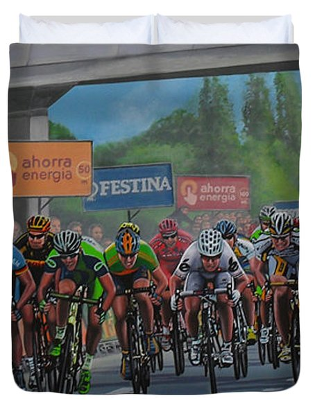 The Vuelta Duvet Cover by Paul Meijering
