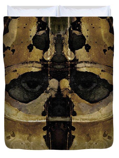 The Warrior Duvet Cover by David Gordon