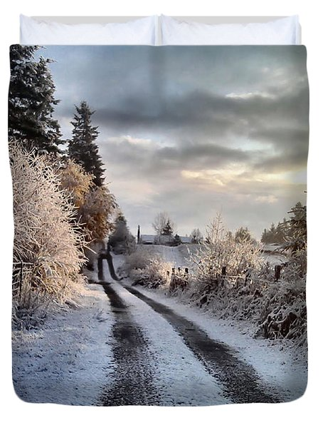 The Way Home Duvet Cover by Rory Sagner