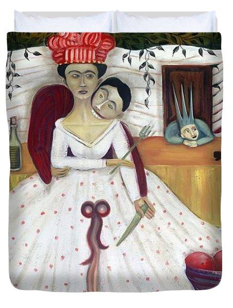 The Wedding Duvet Cover by Jennifer Taylor