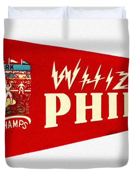 The Whiz Kids Duvet Cover by Bill Cannon