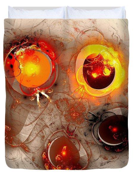 The Whole Cycle Duvet Cover by Anastasiya Malakhova