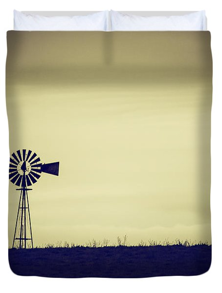 The Windmill Duvet Cover by Karol Livote