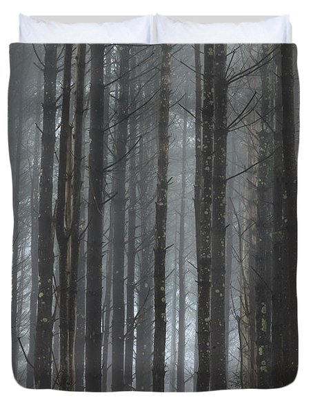 The Woods Duvet Cover by Bill  Wakeley