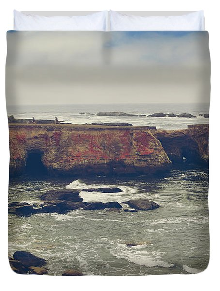 There are Wonders Duvet Cover by Laurie Search