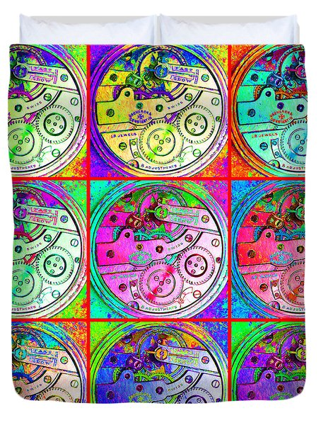 There Is Never Enough Time 20130606 Duvet Cover by Wingsdomain Art and Photography