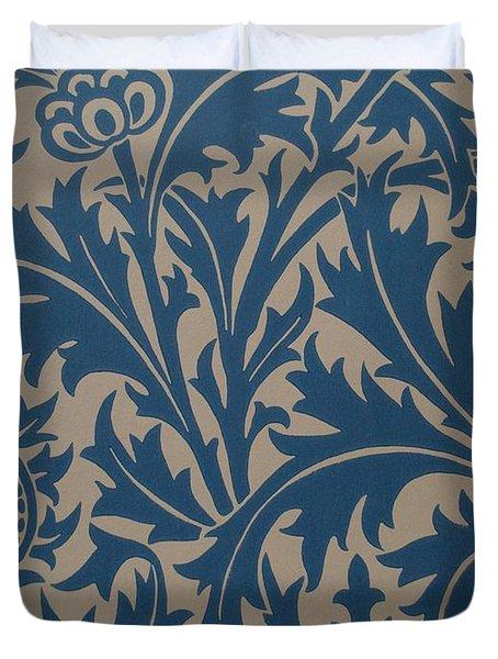 Thistle Design Duvet Cover by William Morris