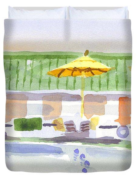 Three Amigos II Duvet Cover by Kip DeVore