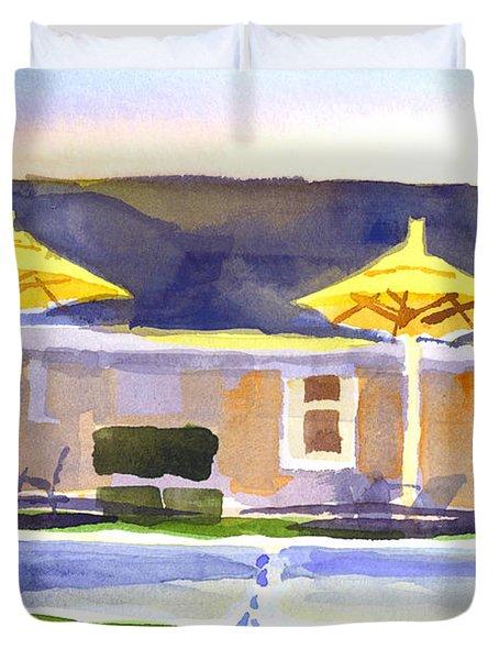 Three Amigos IIi Duvet Cover by Kip DeVore