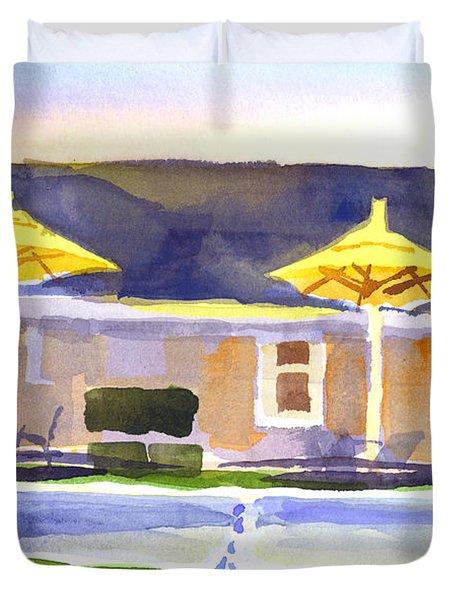 Three Amigos IIIb Duvet Cover by Kip DeVore