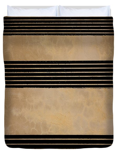 Three Steps Duvet Cover by Bob Orsillo