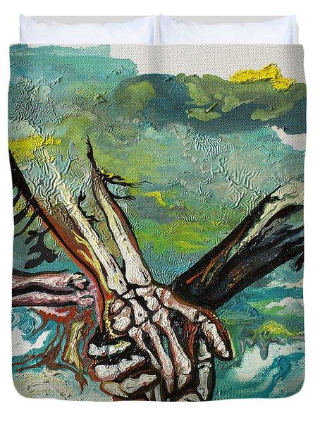 Through Storms Duvet Cover by Joseph Demaree
