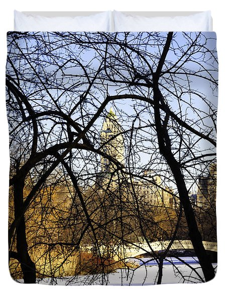 Through The Branches 3 - Central Park - NYC Duvet Cover by Madeline Ellis