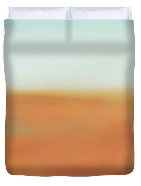 Through The Desert Duvet Cover by Hannes Cmarits