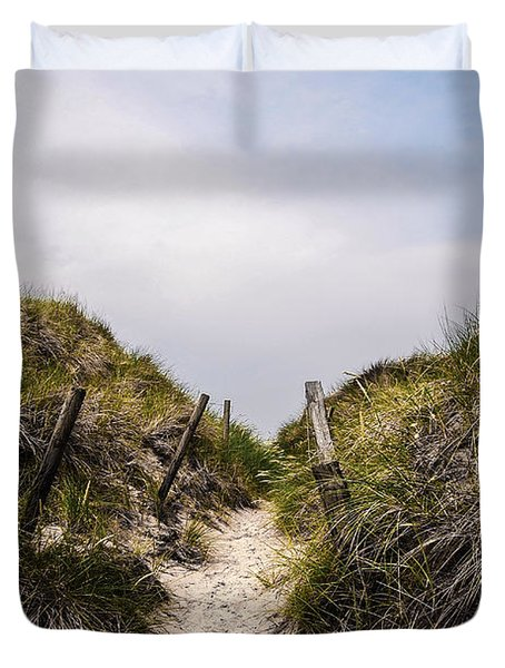 Through The Dunes Duvet Cover by Hannes Cmarits