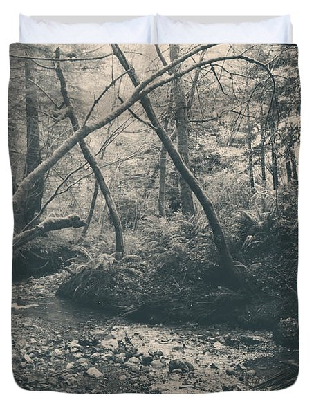 Through The Woods Duvet Cover by Laurie Search