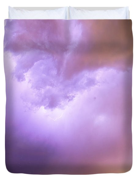 Thunderstorm Tidal Wave Duvet Cover by James BO  Insogna