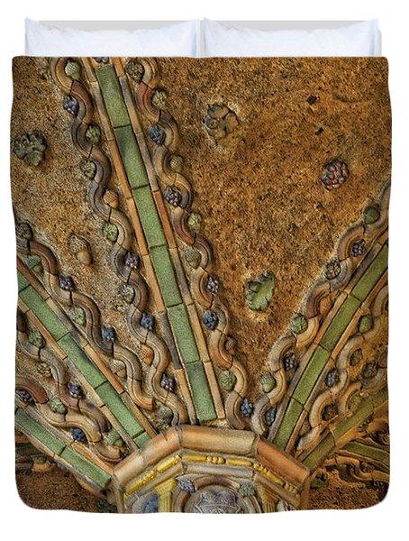 Tile Work Duvet Cover by Susan Candelario