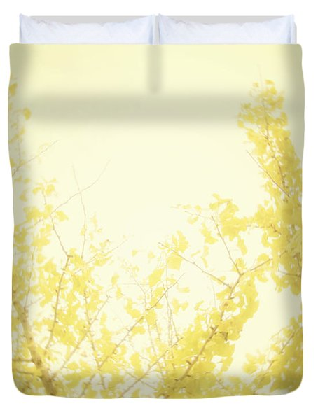 Time After Time Duvet Cover by Amy Tyler