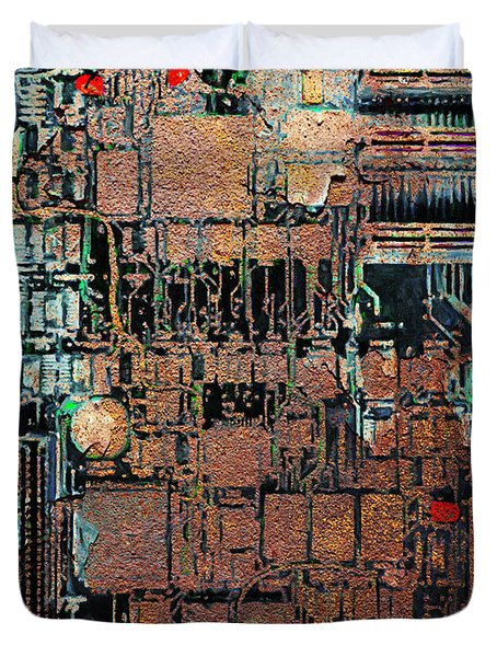 Time For A Motherboard Upgrade 20130716 Duvet Cover by Wingsdomain Art and Photography