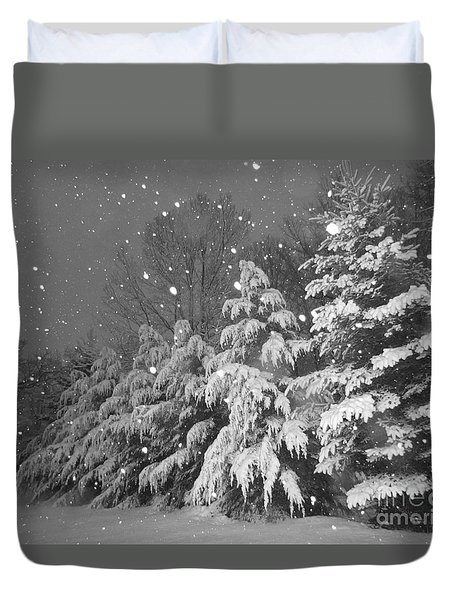 Time For Bed Duvet Cover by Elizabeth Dow