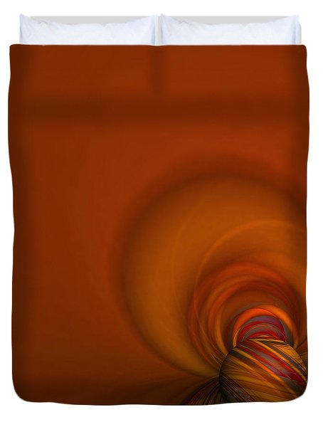 Time Warp Duvet Cover by Mary Machare