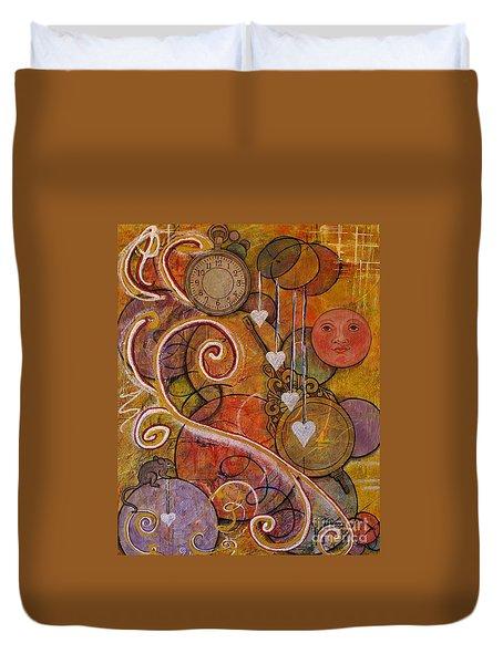 Timeless Love Duvet Cover by Jane Chesnut