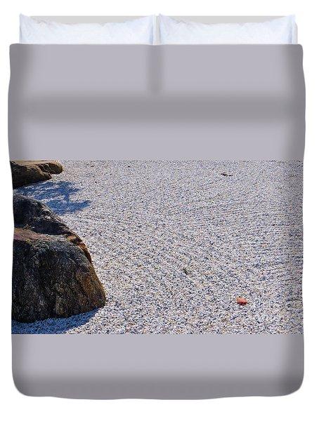 Timeless Zen Duvet Cover by Joy Hardee