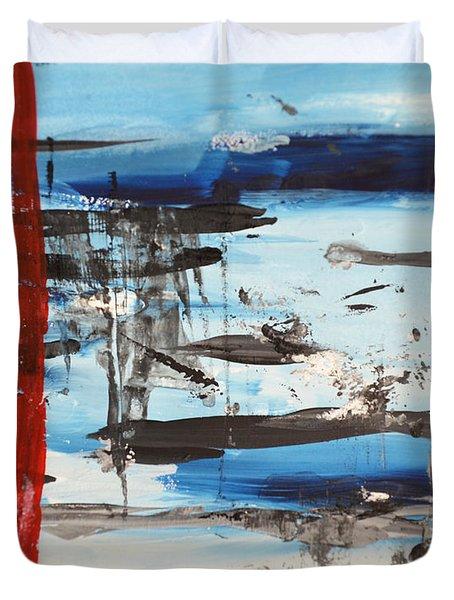 Timeline Duvet Cover by Andrea Anderegg