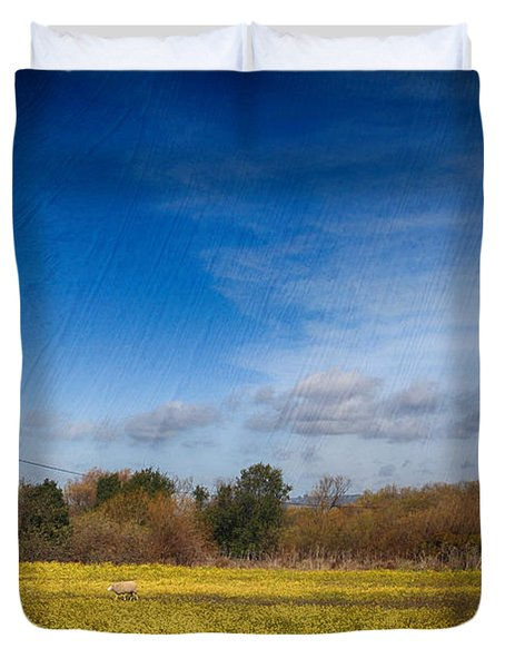 Times Like These Duvet Cover by Laurie Search