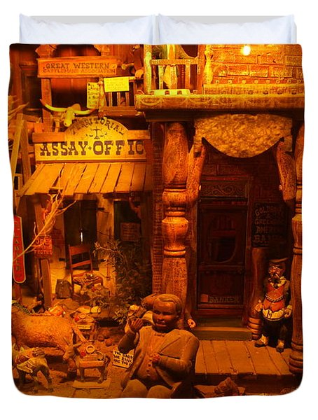 Tinkertown Duvet Cover by Jeff Swan