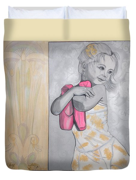 Tiny Dancer Duvet Cover by Darlene Graeser