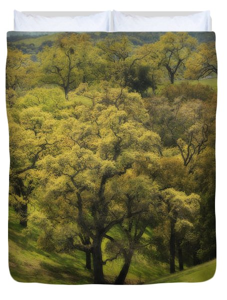 To Comfort You Duvet Cover by Laurie Search