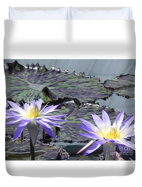 Together Is Beauty Duvet Cover by Chrisann Ellis