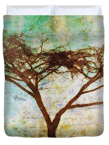 Tonal Curve Duvet Cover by Brett Pfister