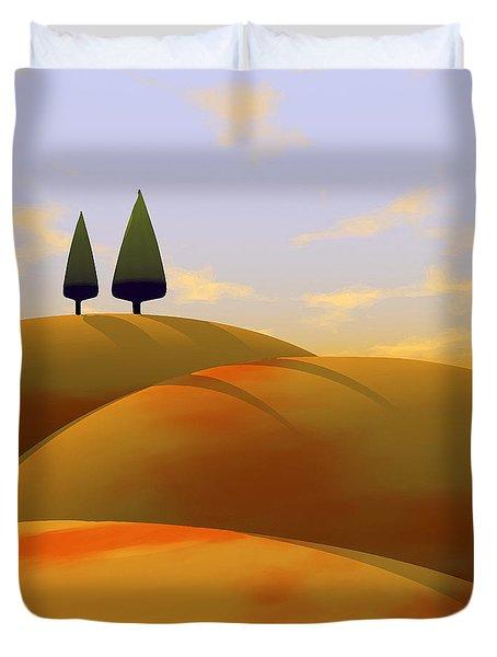 Toscana 1 Duvet Cover by Cynthia Decker