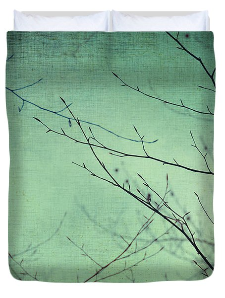 Touching The Sky Duvet Cover by Taylan Soyturk